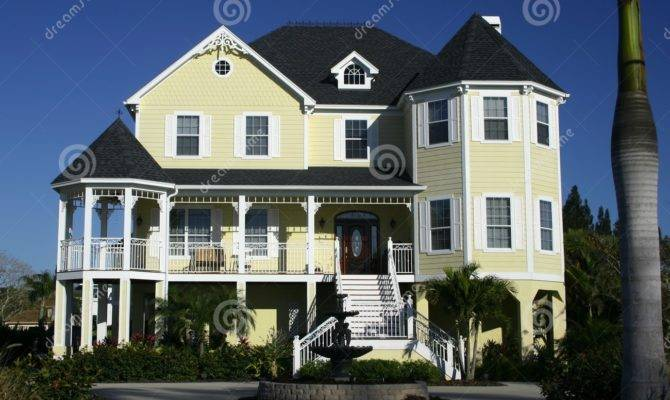 Bright Yellow House Best Home