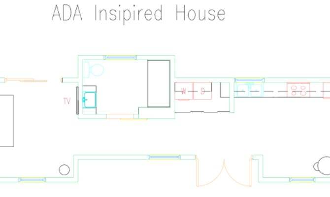 Brilliant Ada Compliant House Plans Design Decoration