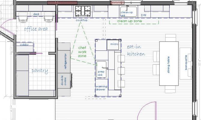 Brilliant Kitchen Floor Plans Walk Pantry House Plans 176784