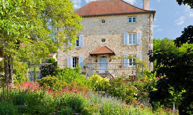 British Garden French Countryside Traditional Home