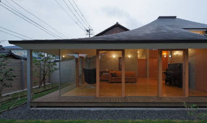 Broken Pitched Roof House