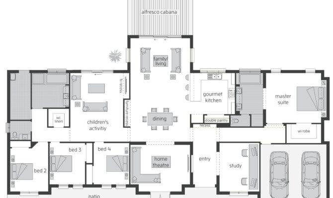 Bronte Act Floorplans Mcdonald Jones Homes