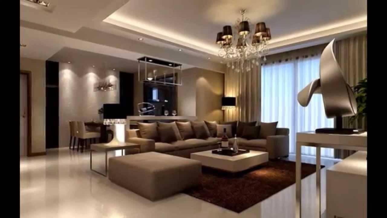 Brown Beige Living Room Ideas Modern House Plans 89992