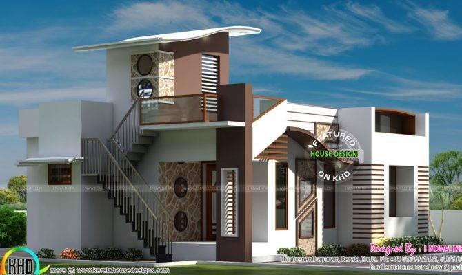 Budget Contemporary House Kerala Home Design