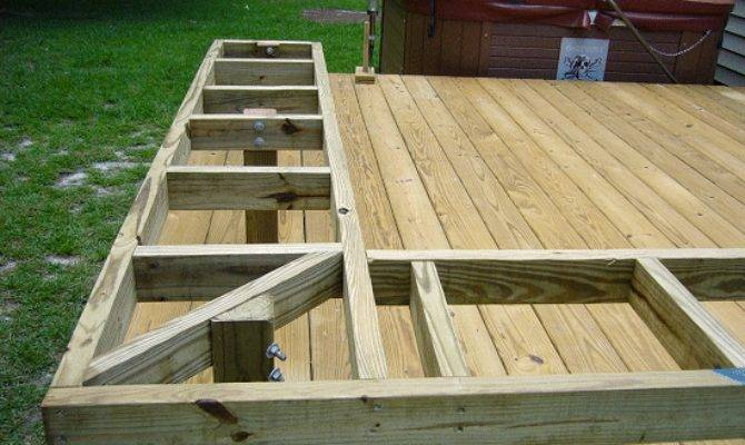 Build Benches Deck