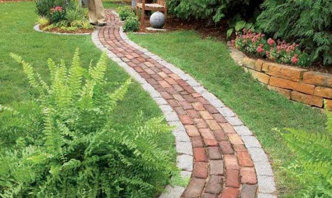 Build Brick Pathway Garden Handyman