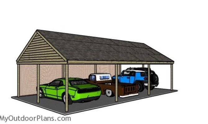 Build Carport Roof Myoutdoorplans