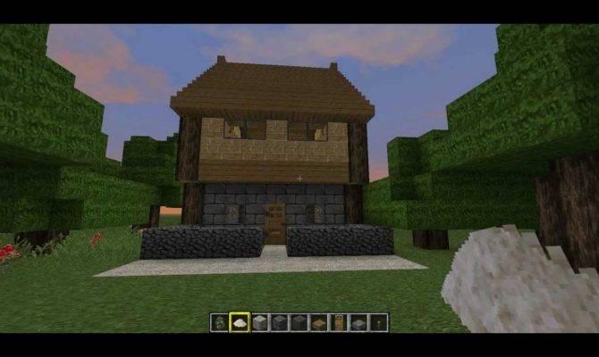 Build Easy Simple House Minecraft Youtube