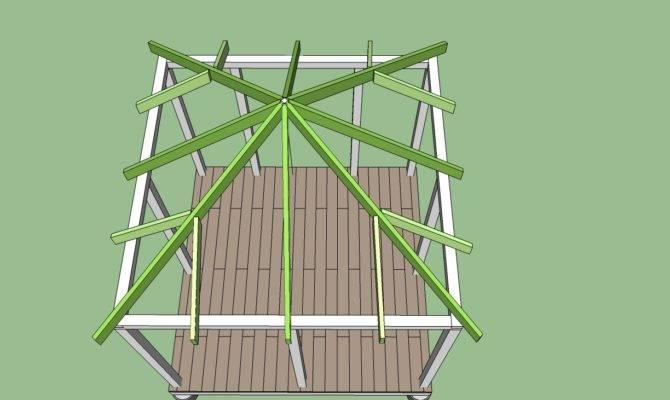 Build Gazebo Basic Steps Garden Landscape