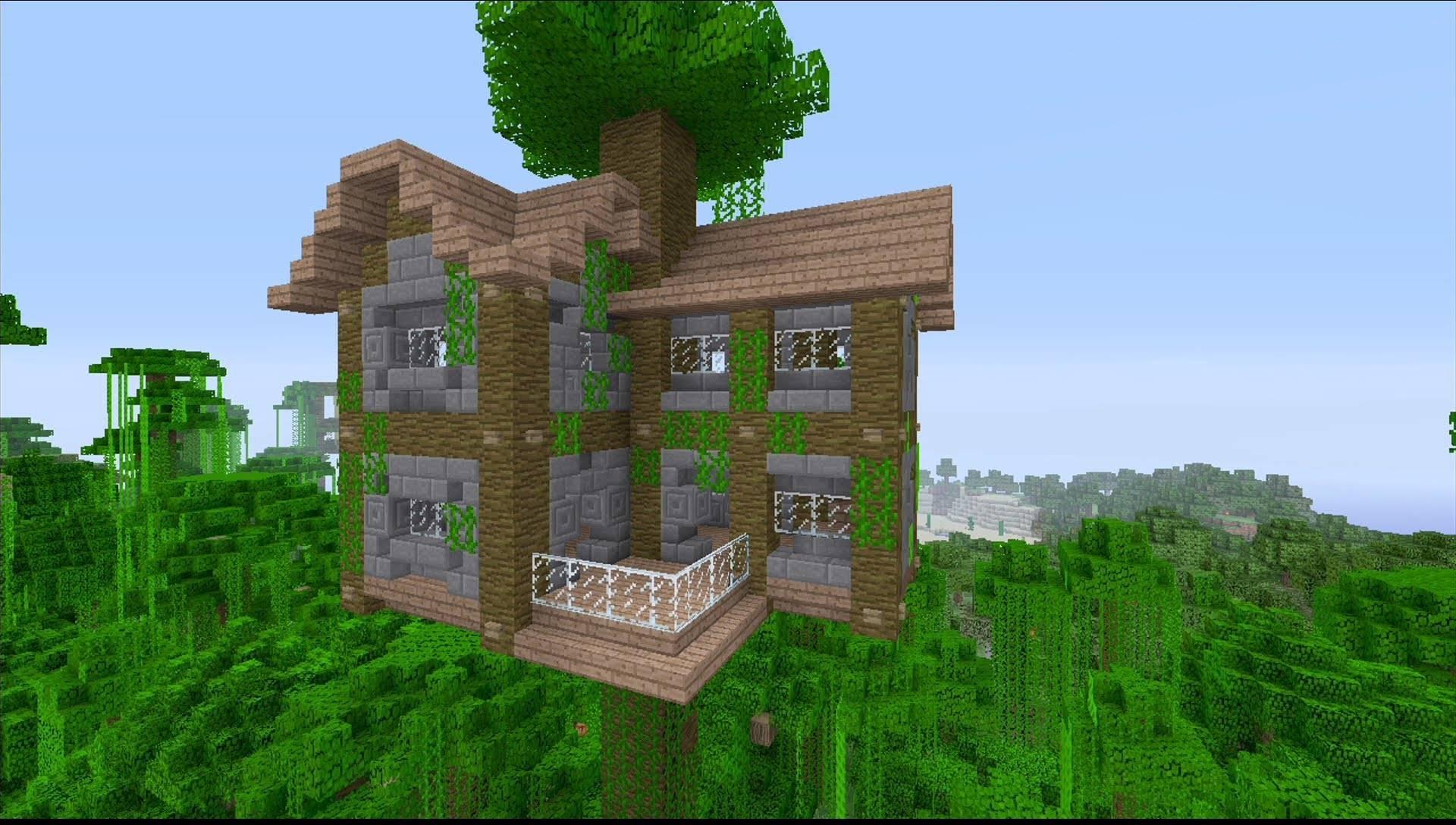 minecraft house ideas easy big