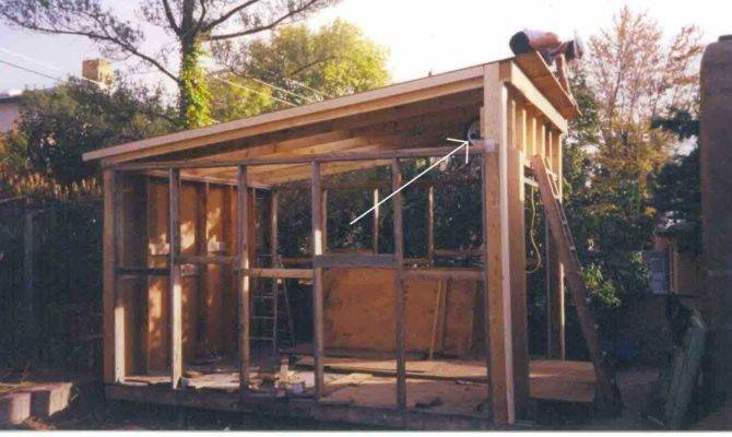 Build Lean Shed Roof Truss Design Plans Pole