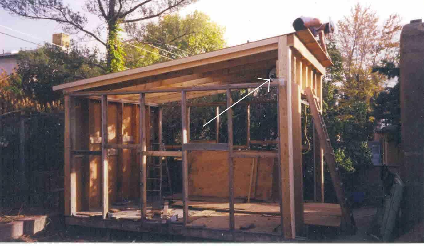 Build Lean Shed Roof Truss Design Plans Pole House Plans 12315