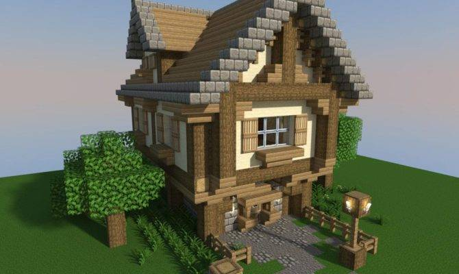 Build Minecraft Cottage Wordpuncher Video