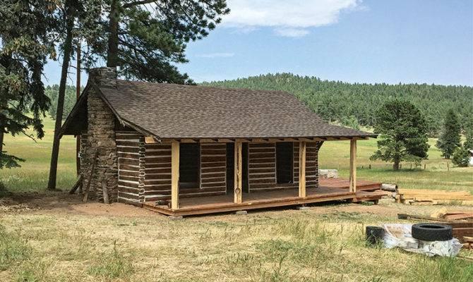 Build Old School Log Cabin