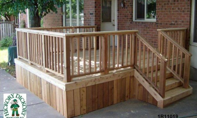 Build Plans Simple Deck Wooden Kids Furniture Diy
