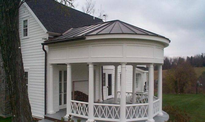 Build Porch Roof Small White