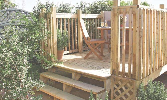 Build Raised Deck Help Ideas Diy
