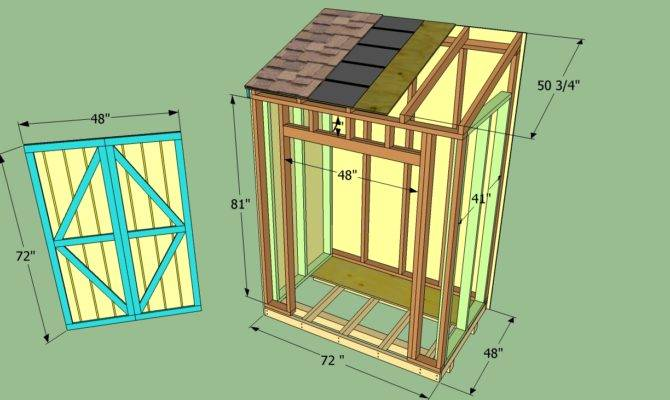 Build Small Wooden Storage Shed Quick Woodworking Projects