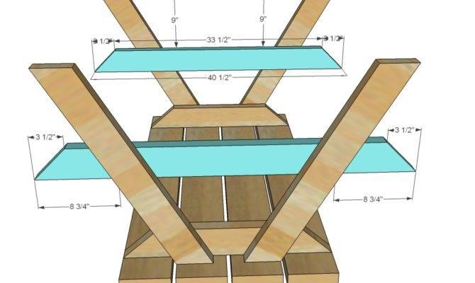 Build Wooden Children Picnic Table Building Plans Cedar