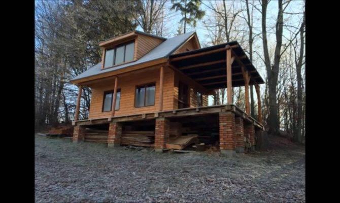 Build Wooden Cottage Log Cabin House