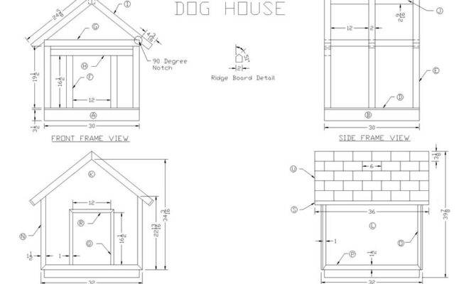 Build Wooden Dog House Woodworking Plans Lee Wood