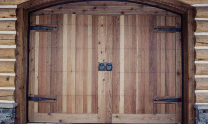 Build Wooden Garage Doors Plans