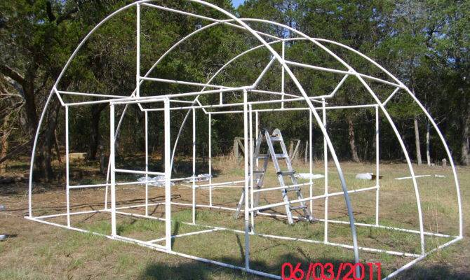 Build Yourself Pvc Dome Greenhouse