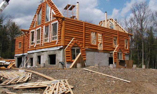 Builders Log Home New Developments House Builds