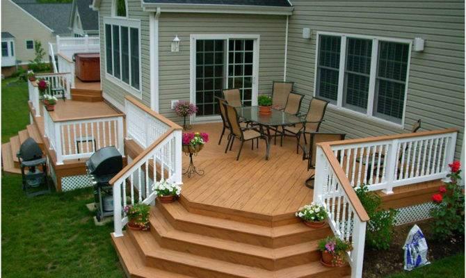Building Beautiful Decks Designs Interior Design Ideas