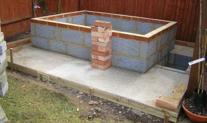 Building Hot Tub