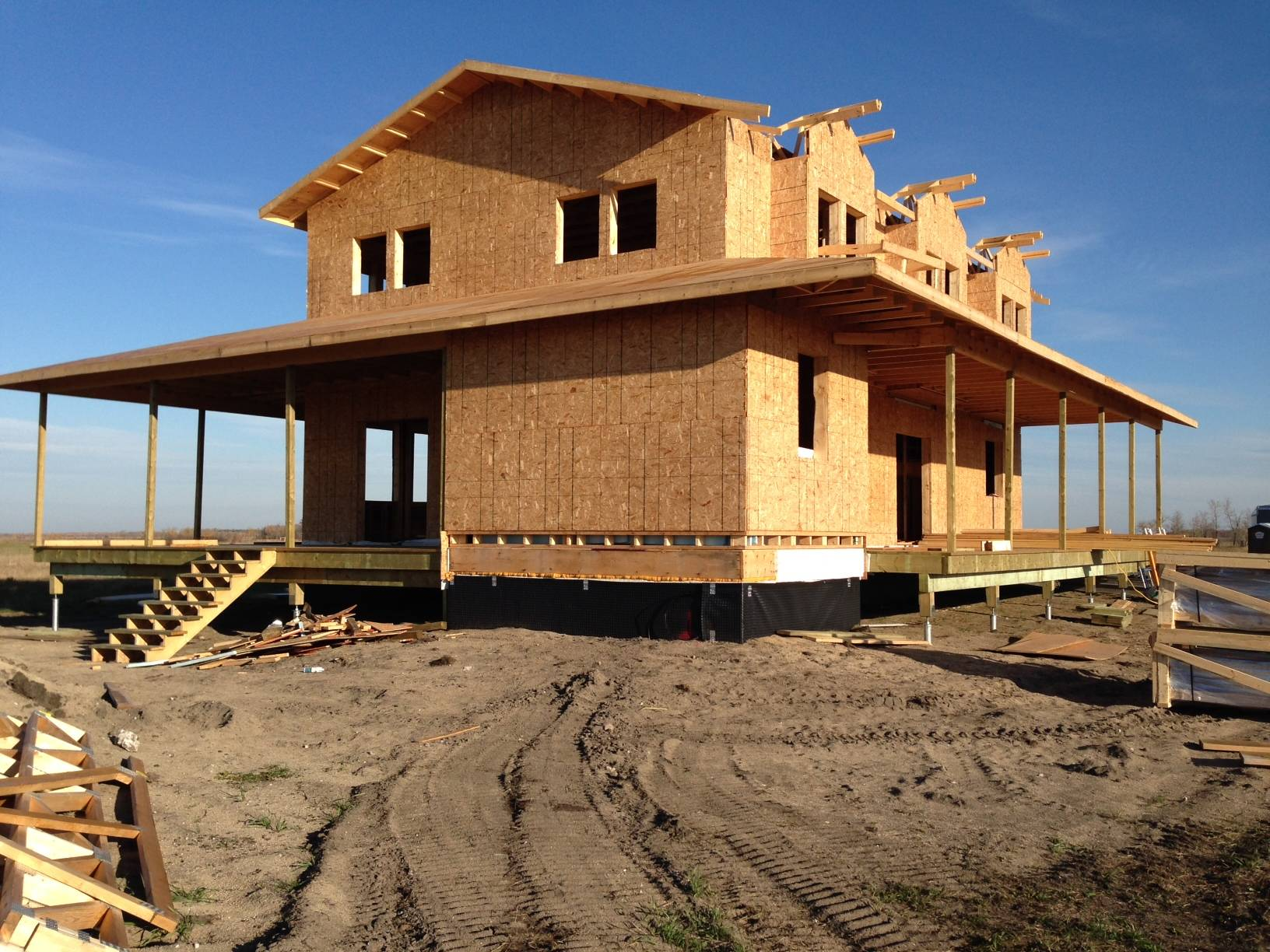Building New Home Garson Postech Winnipeg