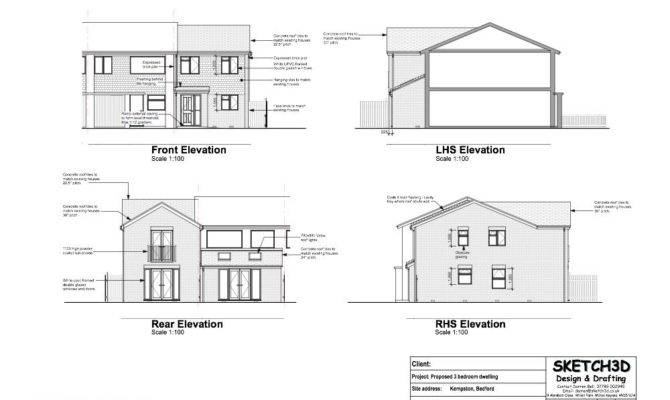 Building Plans Elevation Home Deco
