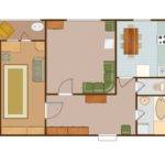 Building Plans Floor Apartment Plan Sample