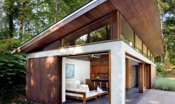 Building Shed Roof House Compared Pitched