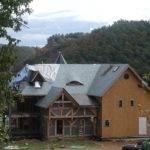 Building Timberframe Home Scratch Eyebrow Dormer