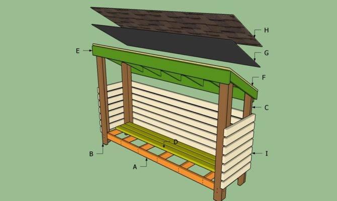 Building Wood Shed Blueprints