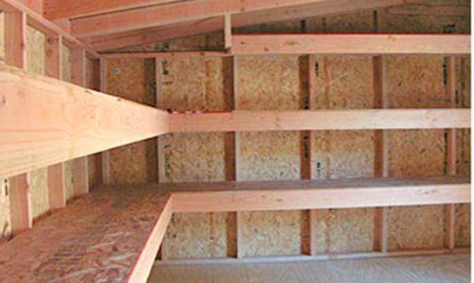 Building Wood Shelves Garage Quick Woodworking Projects