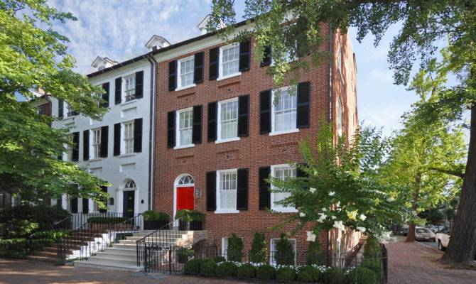 Built Stunning Townhouse Federal Era Architecture