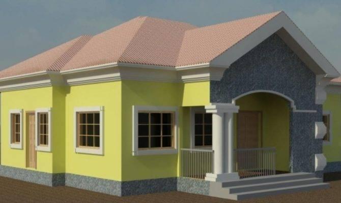Bungalow Bedroom Flat House Floor Plans