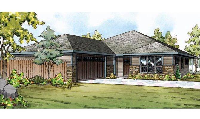 Bungalow Contemporary Craftsman Prairie Style Ranch House