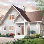 Bungalow Hillside House Plans Floor