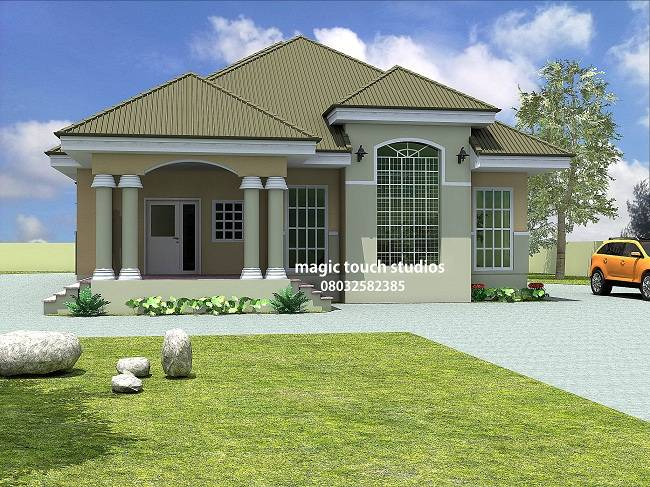 Bungalow Home Plans Nigeria Further House - House Plans ...