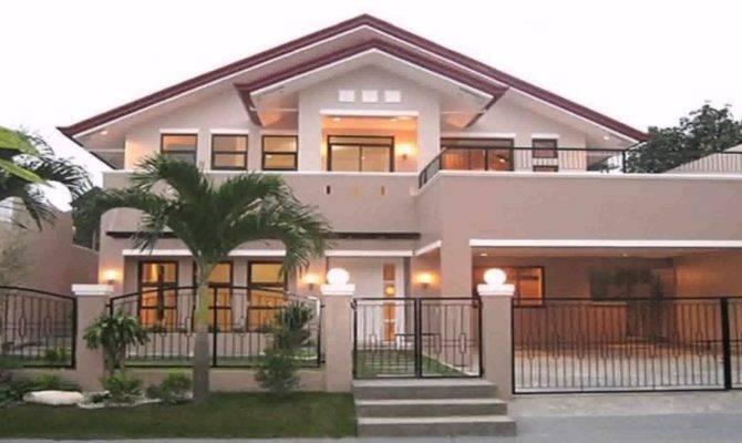 Bungalow House Design Balcony