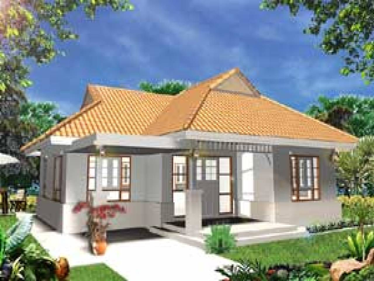 Bungalow House Design Terrace Philippines