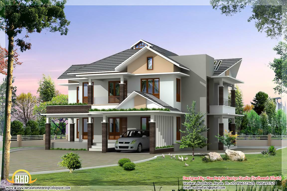 Bungalow House Designs Nigeria Modern - House Plans | #87015