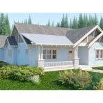 Bungalow House Plan Craftsman Single Story Open Floor