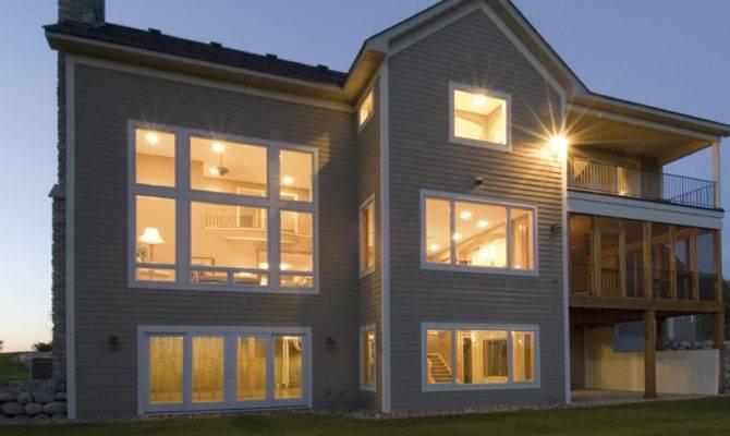 Bungalow House Plan Rear