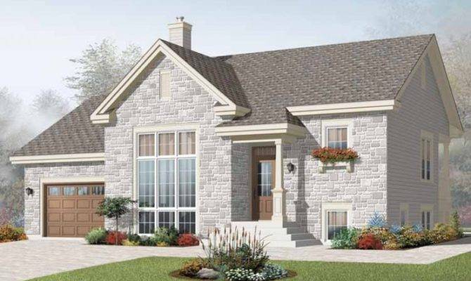 Bungalow House Plan Three Bedroom Square Feet