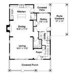 Bungalow House Plans Blue River Associated Designs