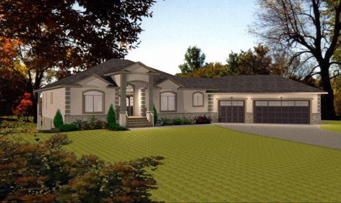Bungalow House Plans Car Garage